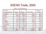 asean trade 2005