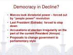 democracy in decline