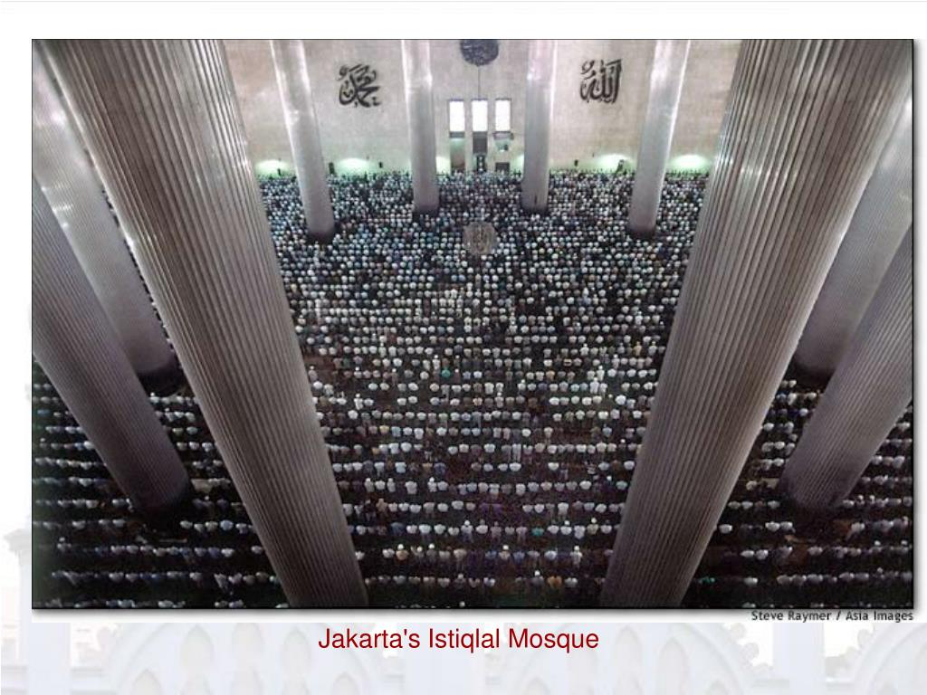 Jakarta's Istiqlal Mosque