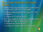 new power management usage models9