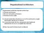 organizational architecture16