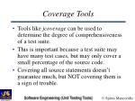 coverage tools