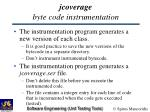 jcoverage byte code instrumentation11