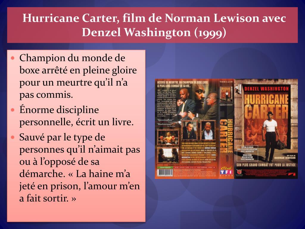 Hurricane Carter, film de Norman