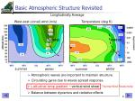 basic atmospheric structure revisited