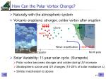 how can the polar vortex change