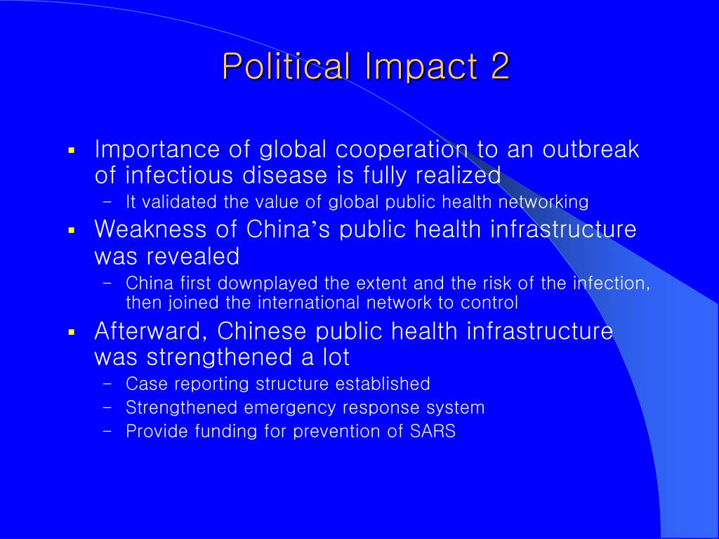 Political Impact 2