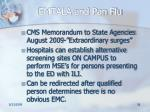 emtala and pan flu