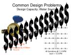 common design problems design capacity water source41