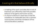 creating ai s that behave ethically60