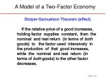 a model of a two factor economy10