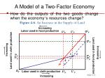 a model of a two factor economy13