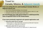 travel to canada mexico adjacent islands6
