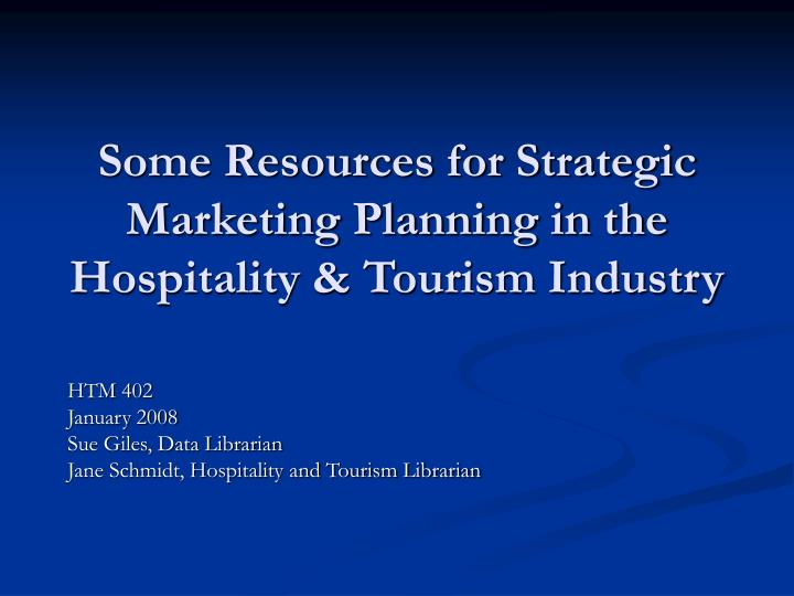 strategies and impacts of internationalization in hospitality industry tourism