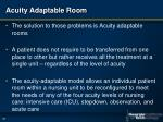 acuity adaptable room