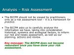 analysis risk assessment