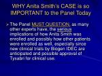 why anita smith s case is so important to the panel today19