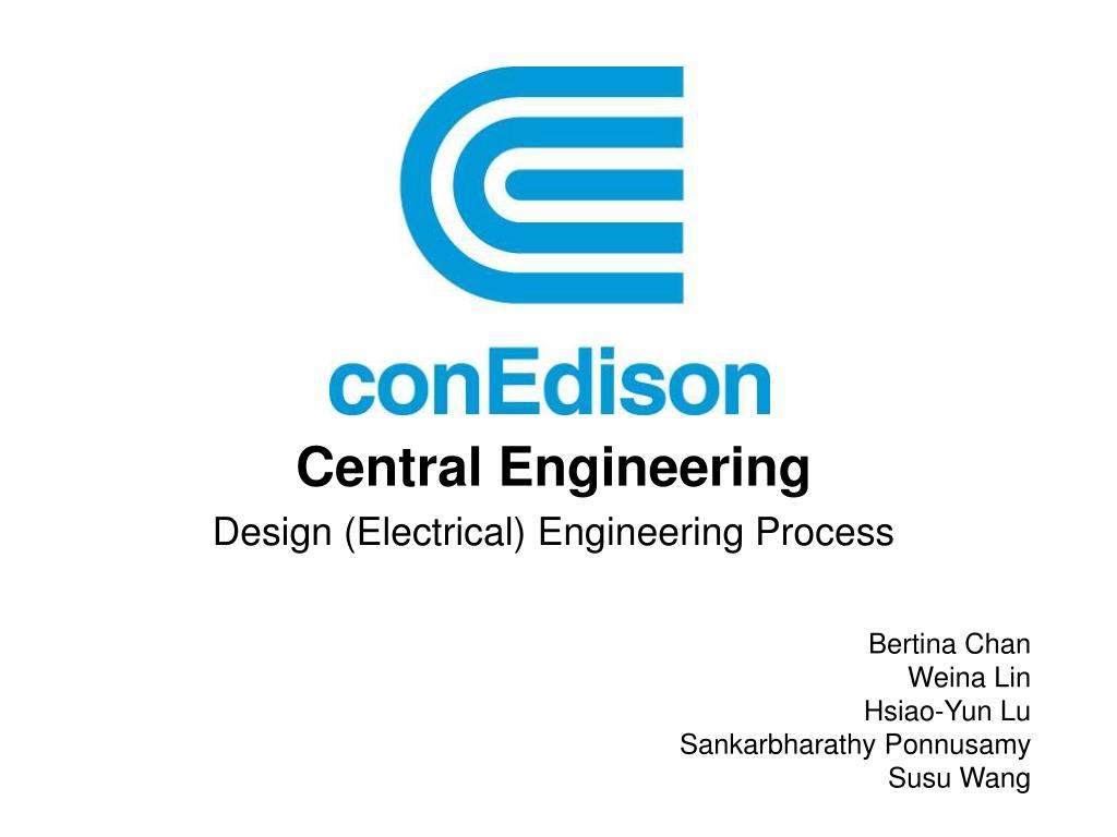 central engineering design electrical engineering process l.