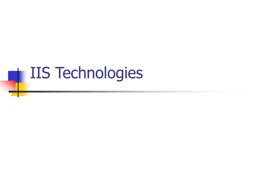 iis technologies l.