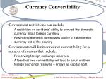currency convertibility21