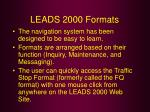 leads 2000 formats25