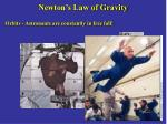newton s law of gravity16