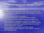 glosofaringealna neuralgija
