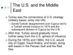 the u s and the middle east