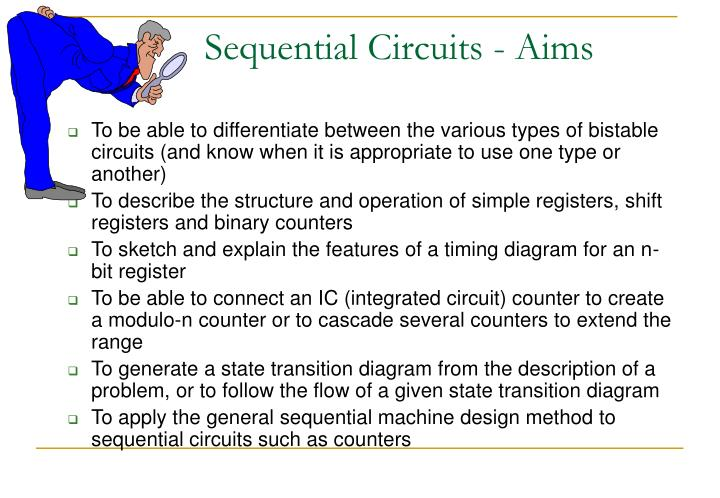 Sequential circuits aims