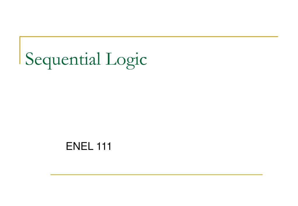 sequential logic l.
