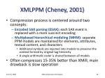 xmlppm cheney 2001