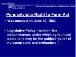 pennsylvania right to farm act7