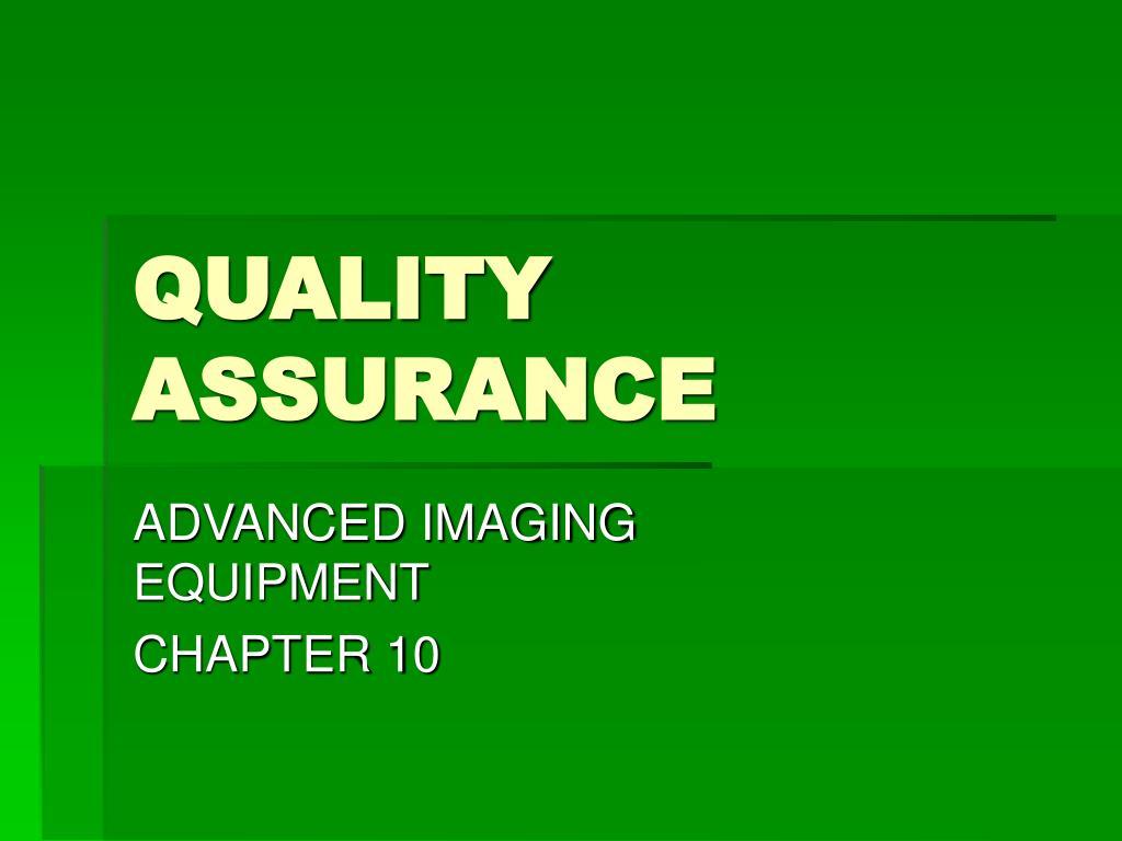 quality assurance l.