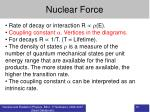 nuclear force10