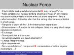 nuclear force11