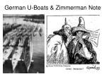 german u boats zimmerman note