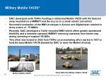 military mobile vacis