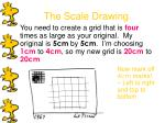 the scale drawing11