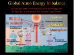 global atmo energy im balance