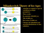 milankovitch theory of ice ages