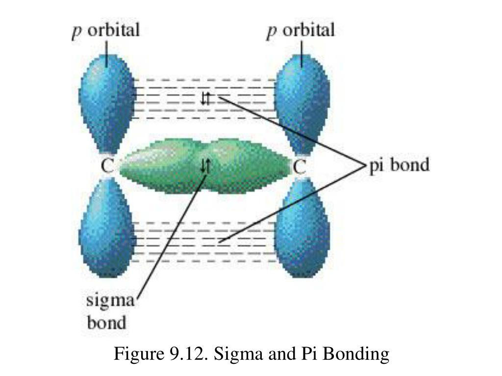 Figure 9.12. Sigma and Pi Bonding