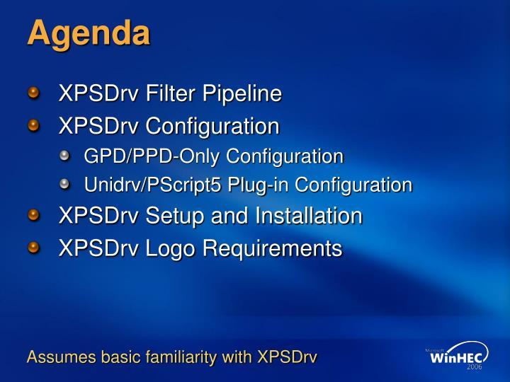 XPSDrvSmpl based printer driver on Windows and 10