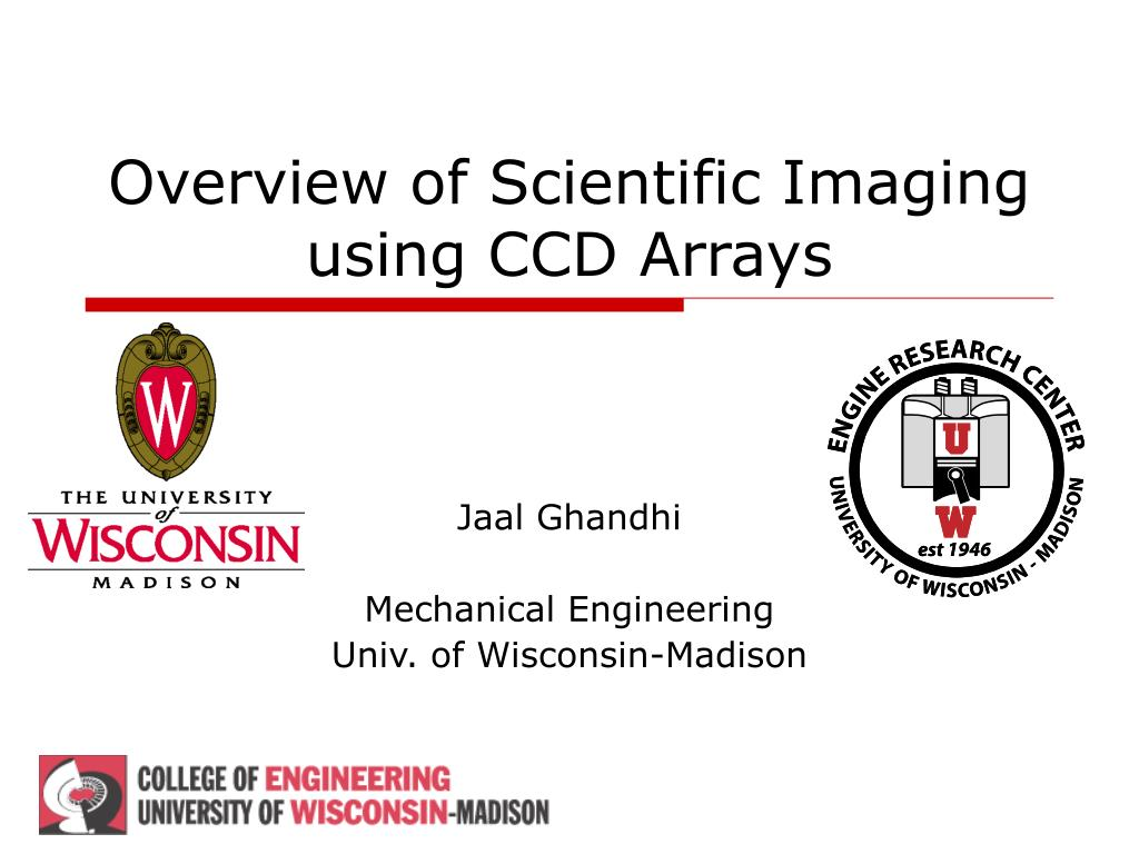 overview of scientific imaging using ccd arrays l.
