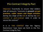 pre contract integrity pact2