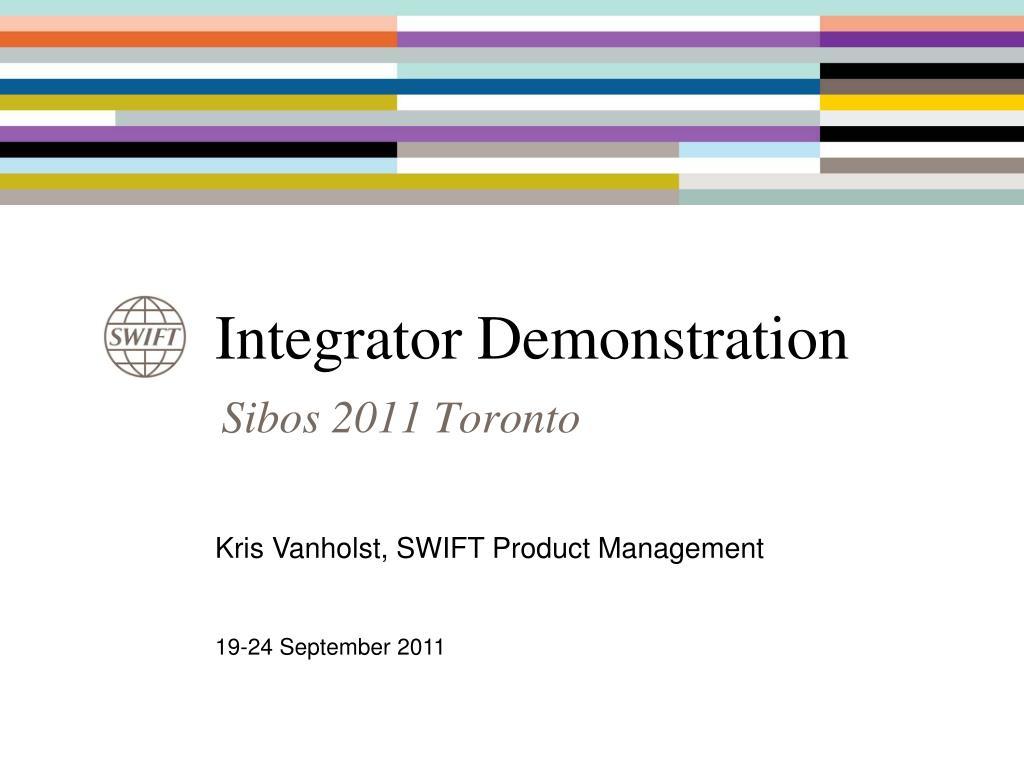 integrator demonstration l.