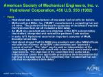american society of mechanical engineers inc v hydrolevel corporation 456 u s 556 1982