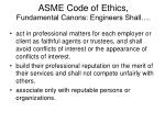 asme code of ethics fundamental canons engineers shall6