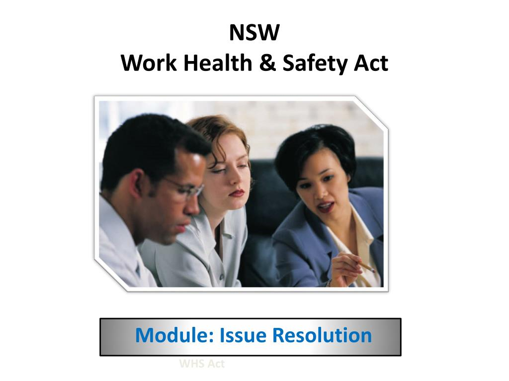 nsw work health safety act l.