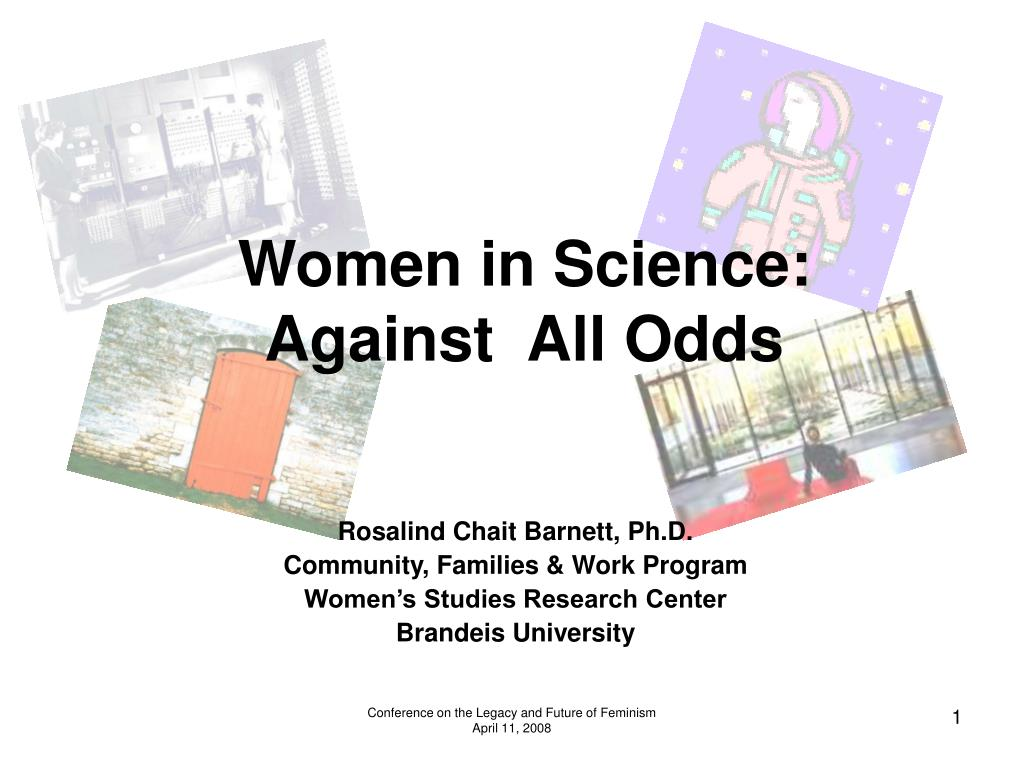 women in science against all odds l.
