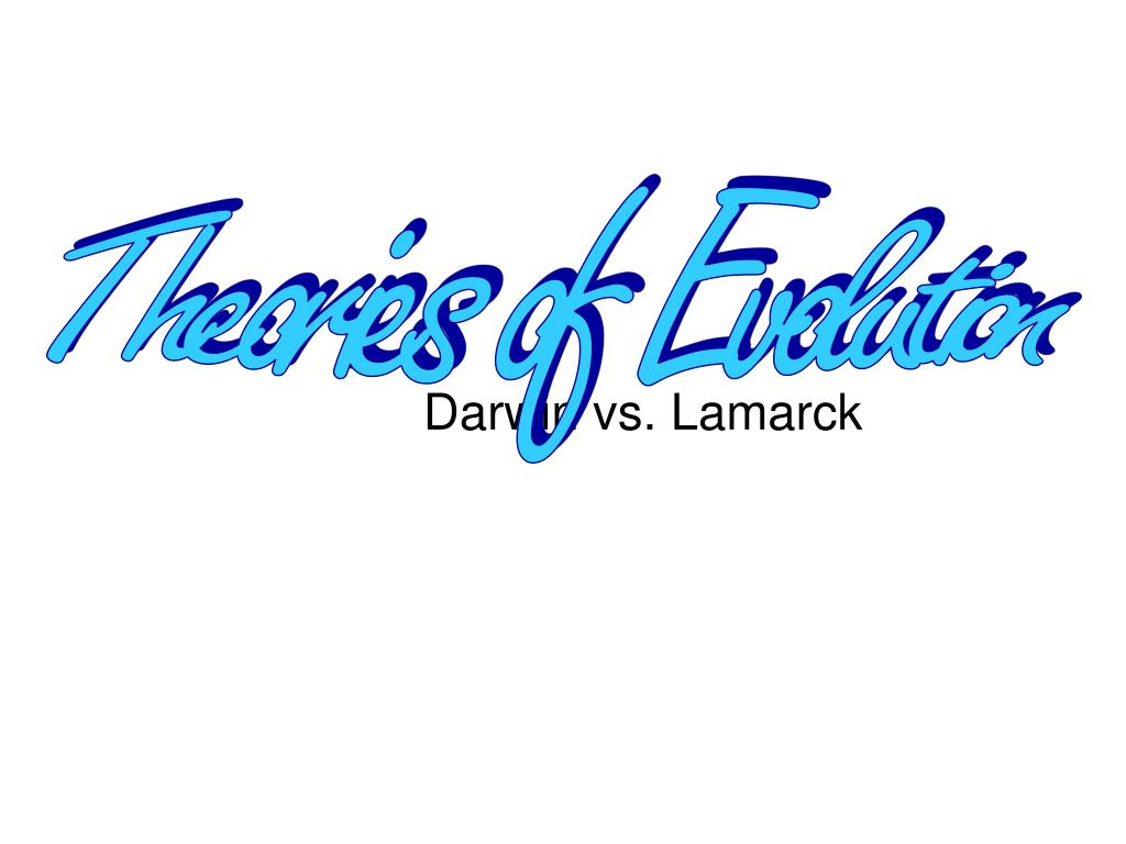 darwin vs lamarck l.